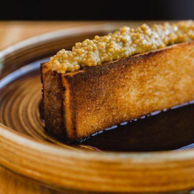 Toasted sweet rib sandwich